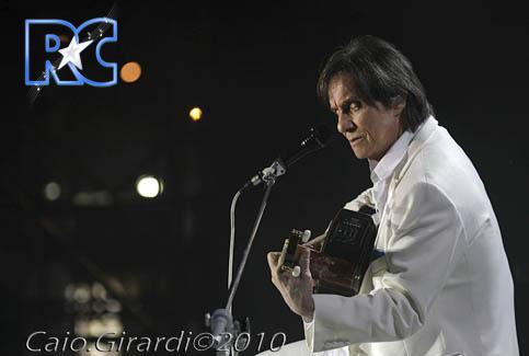 Roberto Carlos em Curitiba (06/11/2010)  Foto por Caio Girardi