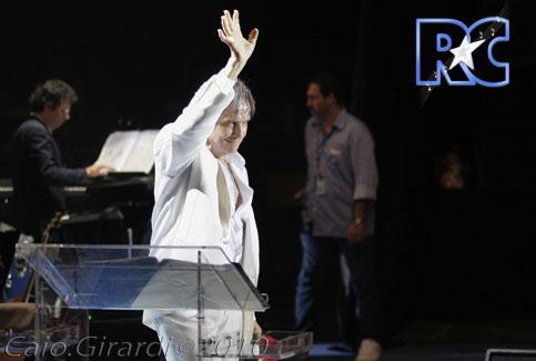 Roberto Carlos em Fortaleza (11/12/2010)  Foto por Caio Girardi