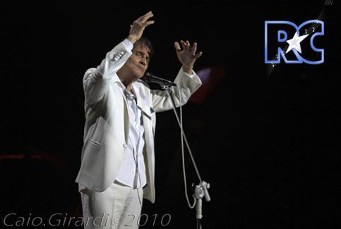 Roberto Carlos em Natal (09/12/2010)  Foto por Caio Girardi