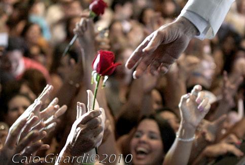Roberto Carlos em Recife (10/09/2010)  Foto por Caio Girardi