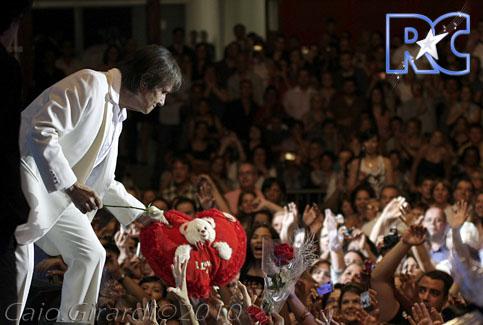 Roberto Carlos em São Paulo (27/11/2010)  Foto por Caio Girardi