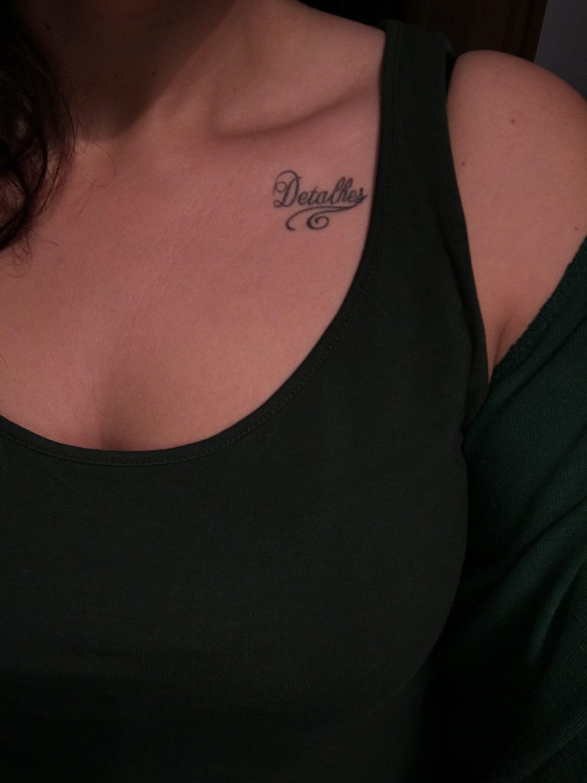 Elisa De Matos Da-Cruz - Tatuagem