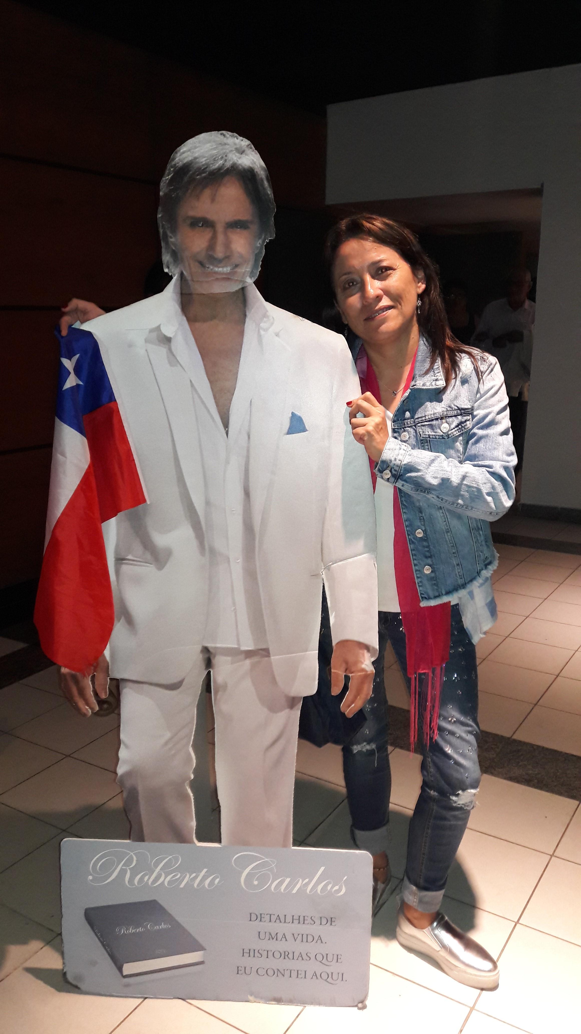 Silvana Alejandra Gonzalez Mesina - Viajei de Chile para ouvir pela 1a vez em portugue