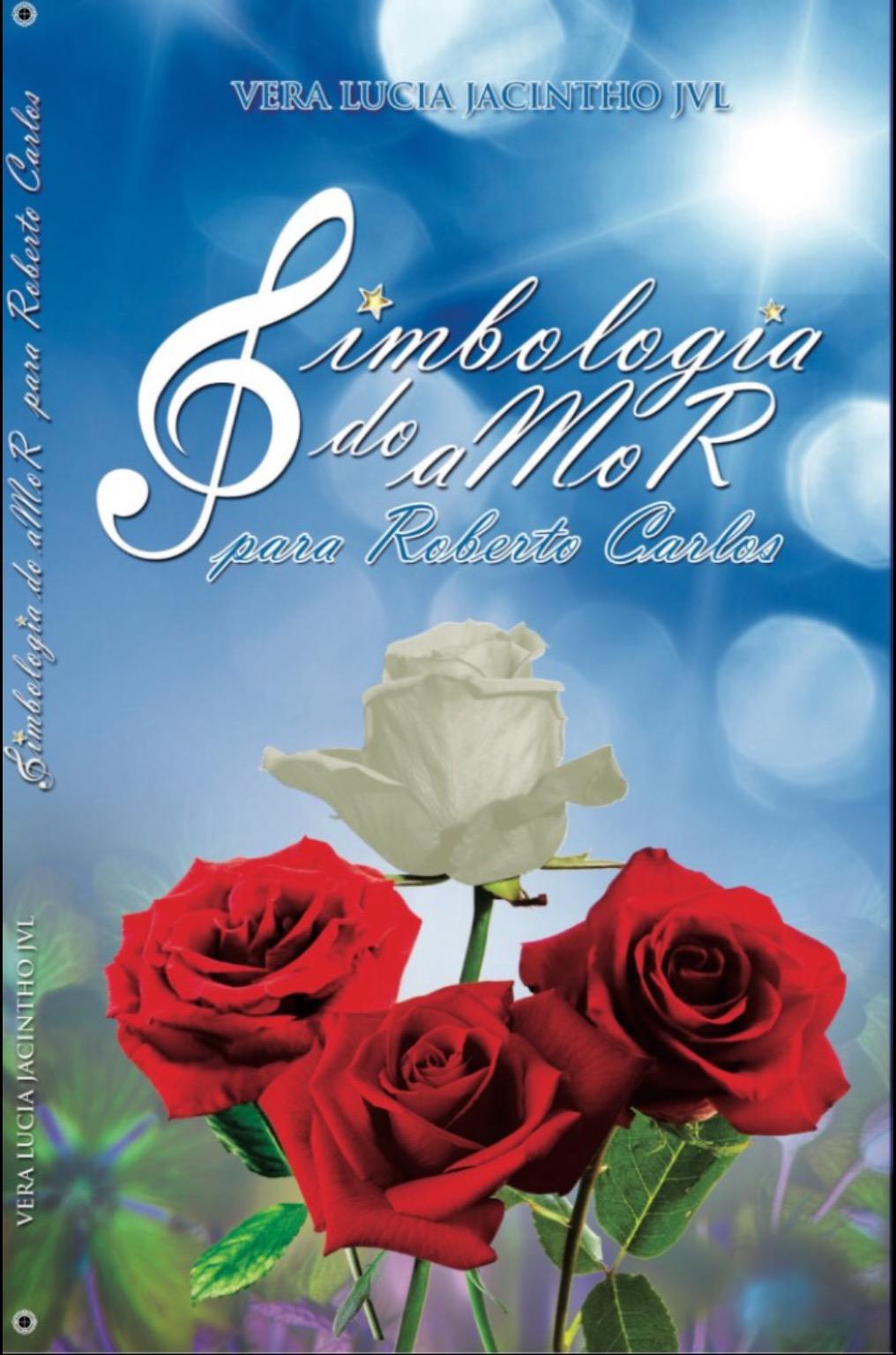 Vera Lúcia Jacintho - Livro de poemas dedicado para  Roberto.