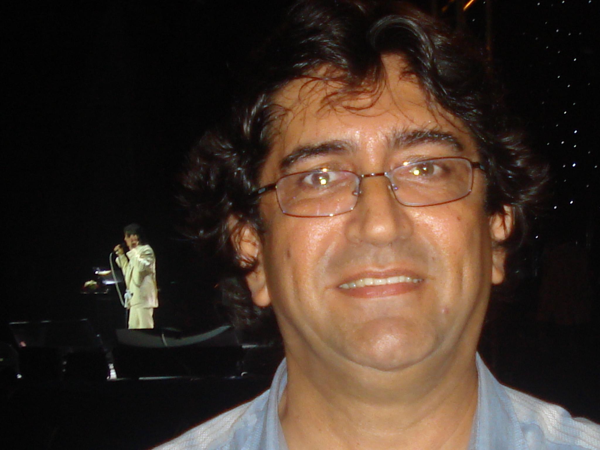 Eli Gomes de Araujo - Show do RC no Machadinho em Natal-RN em 04/06/2009