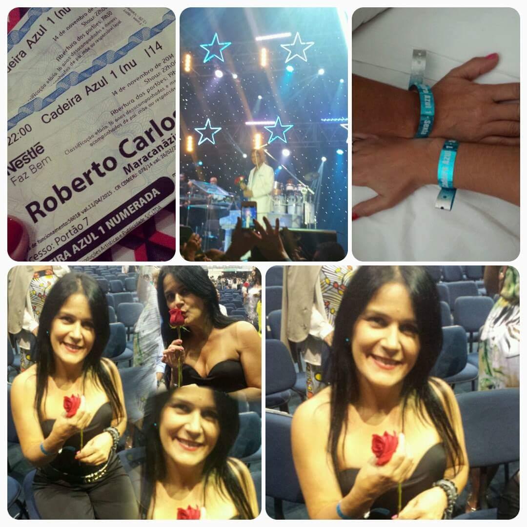 Maristela Viana Lima - Sou fã de Roberto . Assistir show no RJ. Foi lindo
