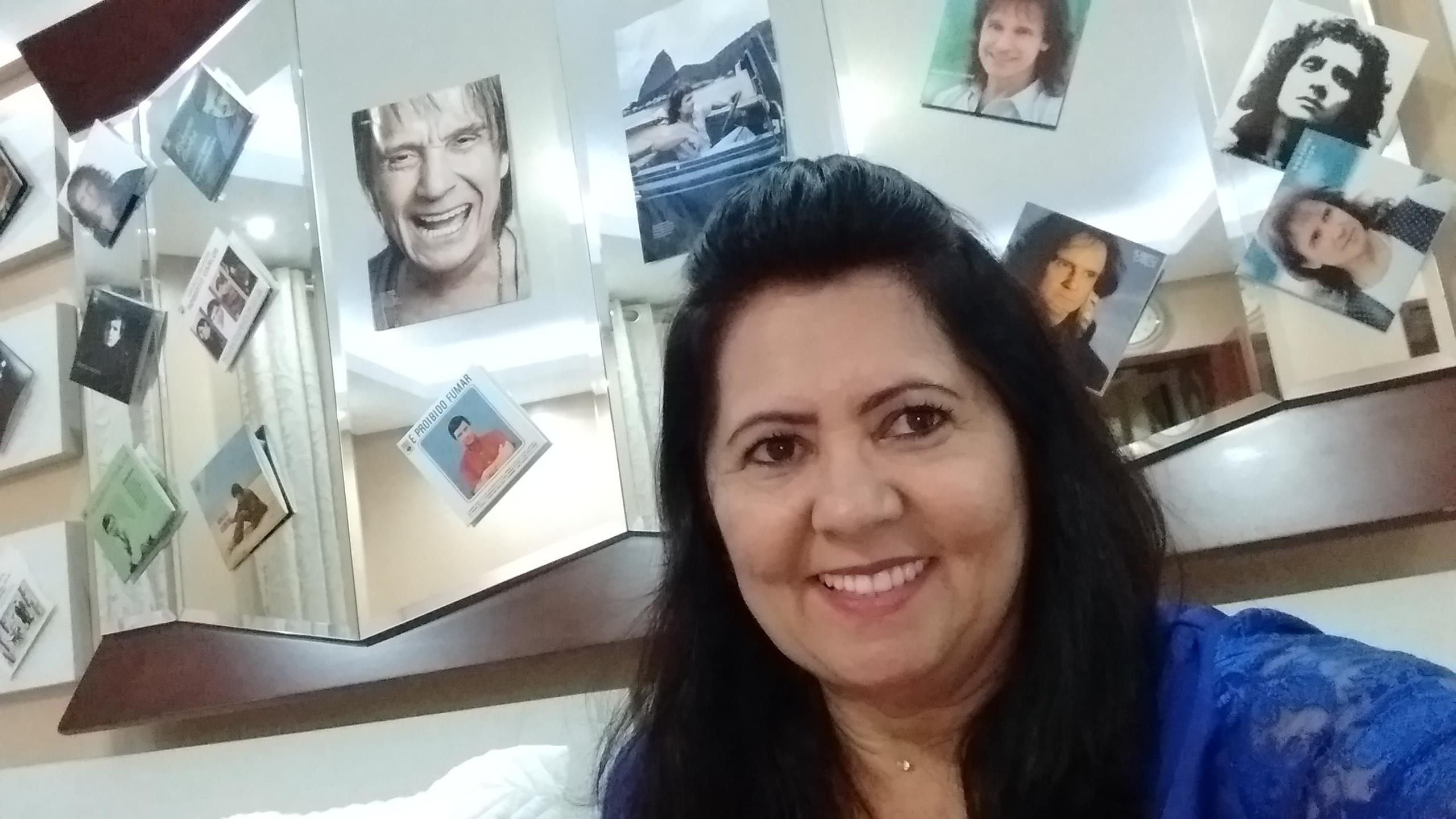 Eliane Bezerra - Sou fã número 1 do Roberto!