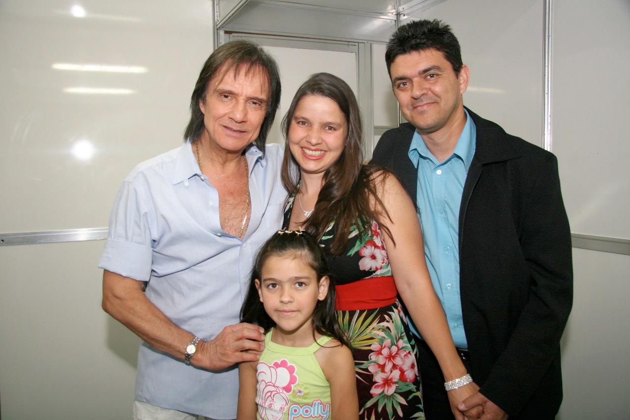 Julio Jose Teixeira, Maria Lucilene e Daniele Maria