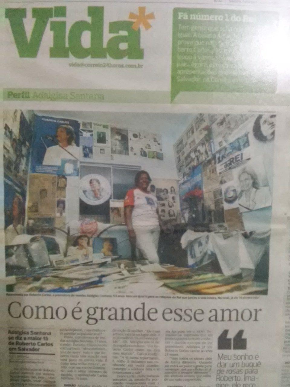 Adalgisa Santana Pereira - O cantinho do Rei,Salvador-Ba.