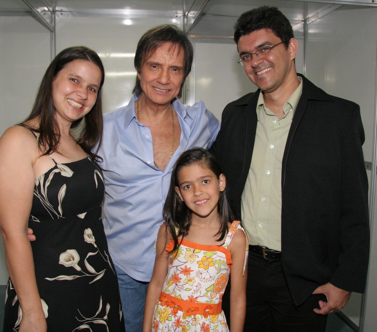 Maria Lucilene, Daniele Maria e Júlio José Teixeira
