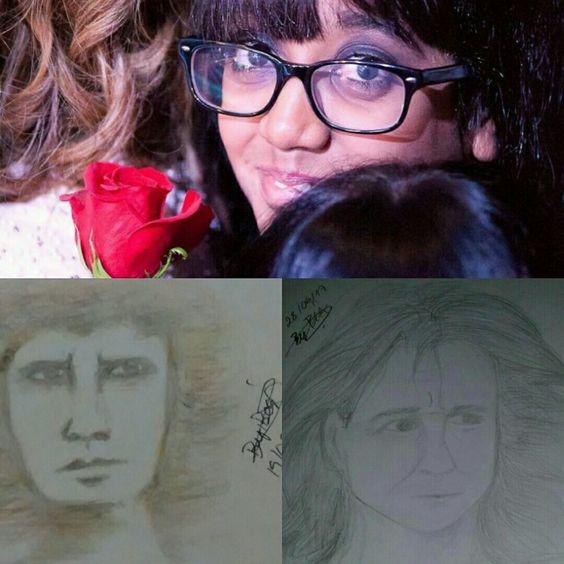 Rebeca Fabio de Santana - Meus desenhos melhorando, Roberto! Hehe