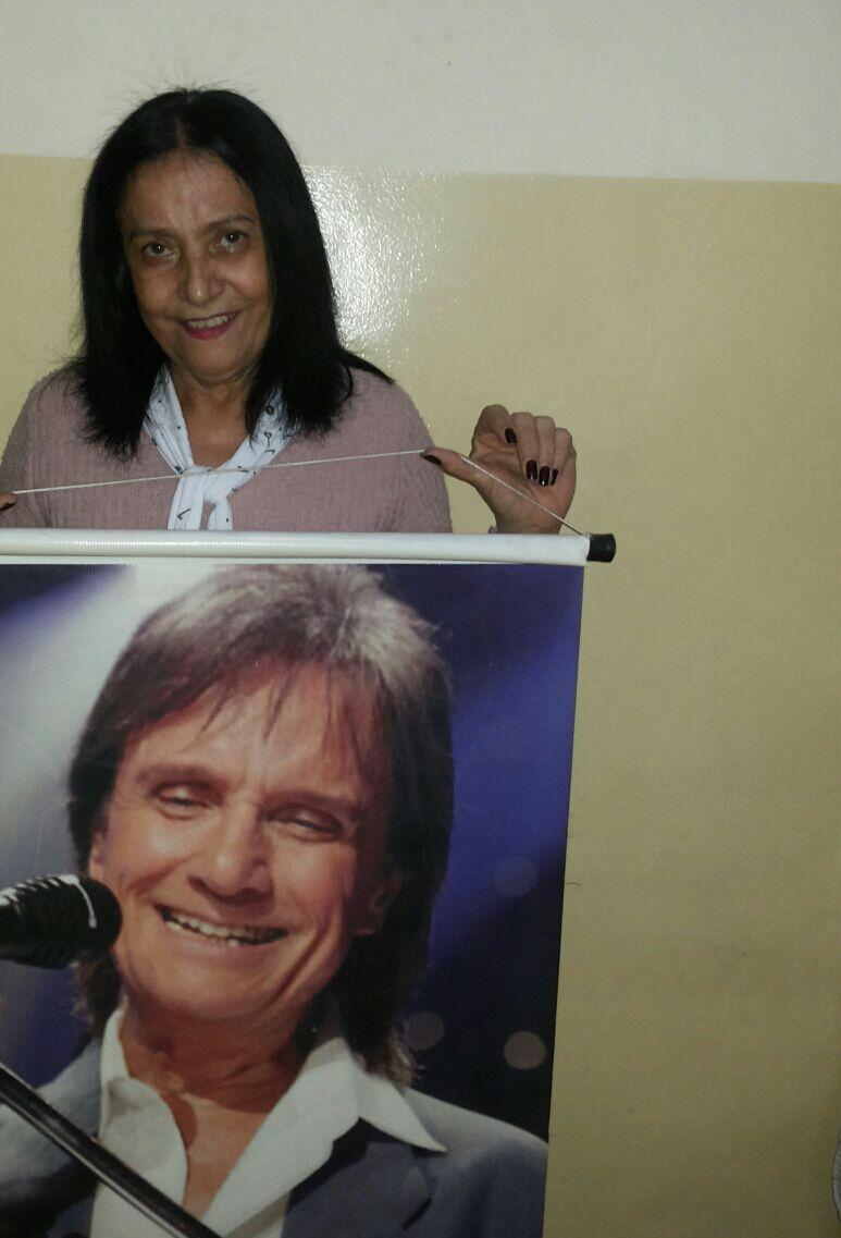 Rita de Cássia Oliveira - Roberto e eu Baner que ganhei em meu aniversário!