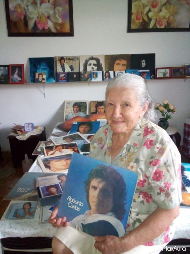 Maria Leontina - Essa é minha mãe e o sonho dela é assistir o show