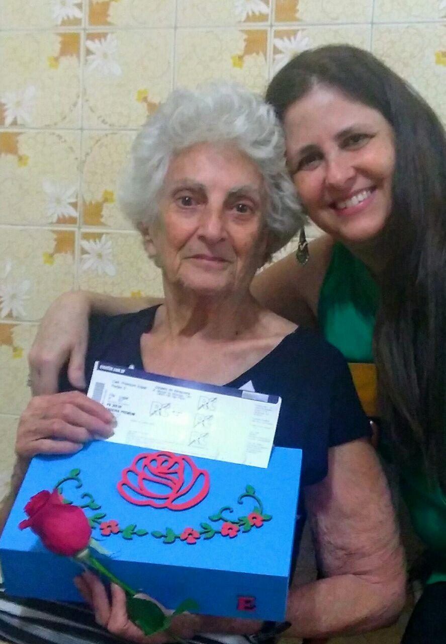 Elena Marin Parelho - Show 22/09 Fila P, 57 - maior felicidade do mundo