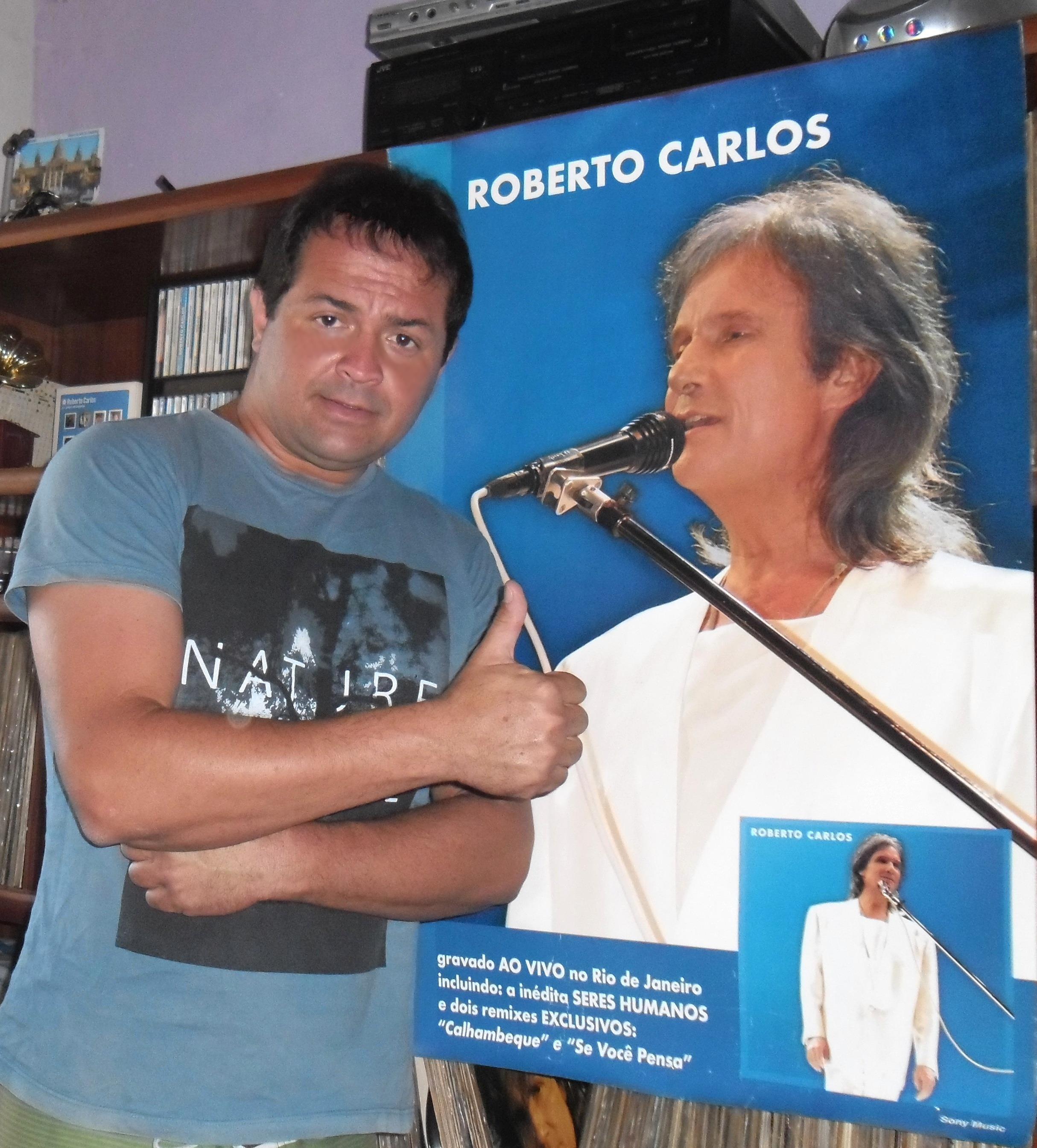 FERNANDO CARLOS PERRIN DA GAMA - SOU FÃ E COLECIONADOR DOS DISCOS DO REI