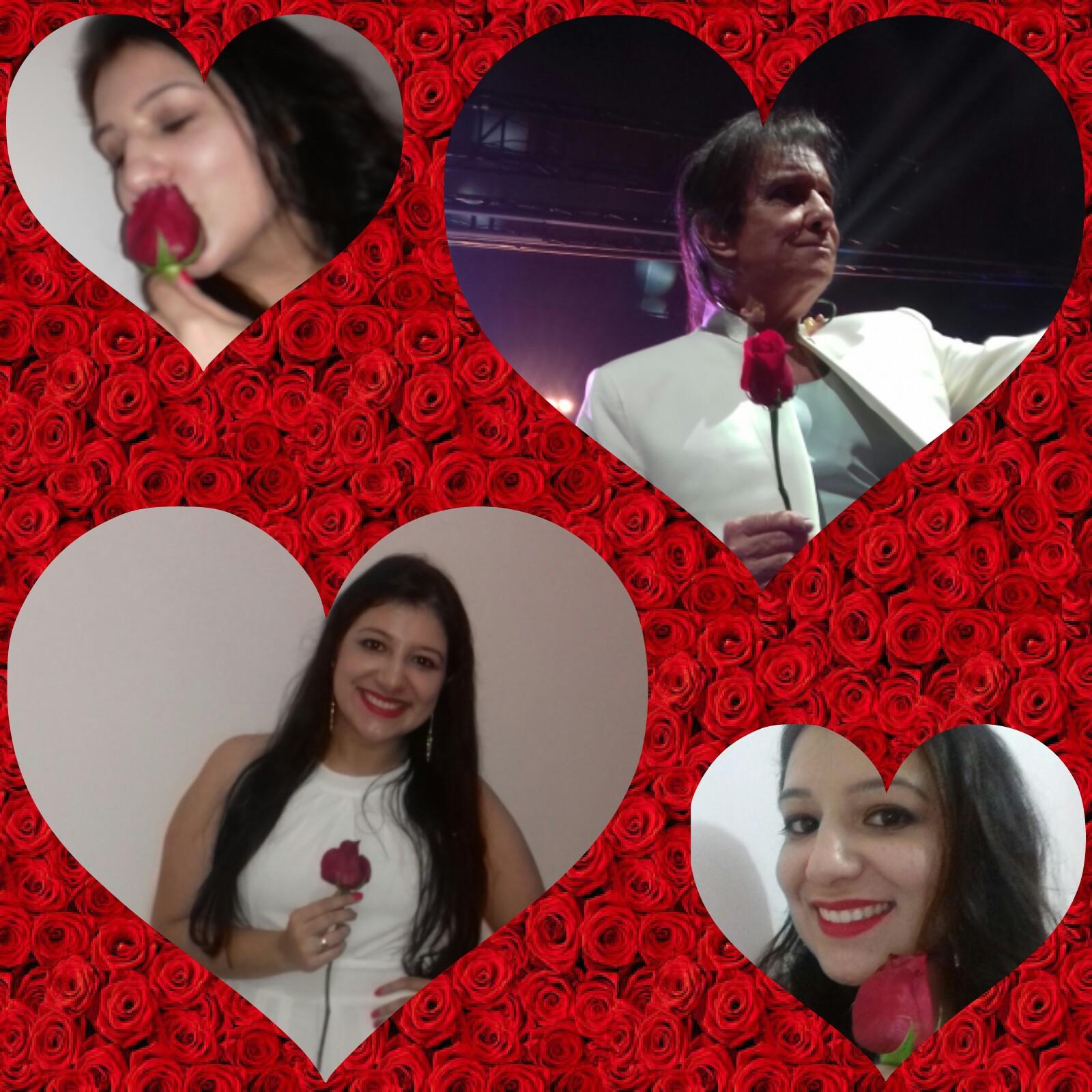Jéssica Ribeiro Chaves - Depois de anos minha primeira Rosa ?Te Amo ?❤