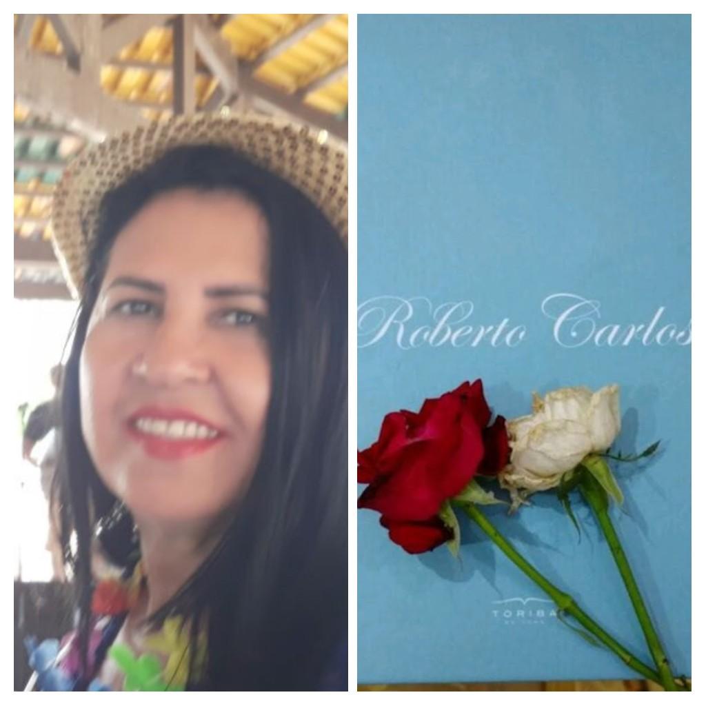 Francisca Neide Pinheiro da Costa - Neide Pinheiro amei essas rosas que ganhei do rei.