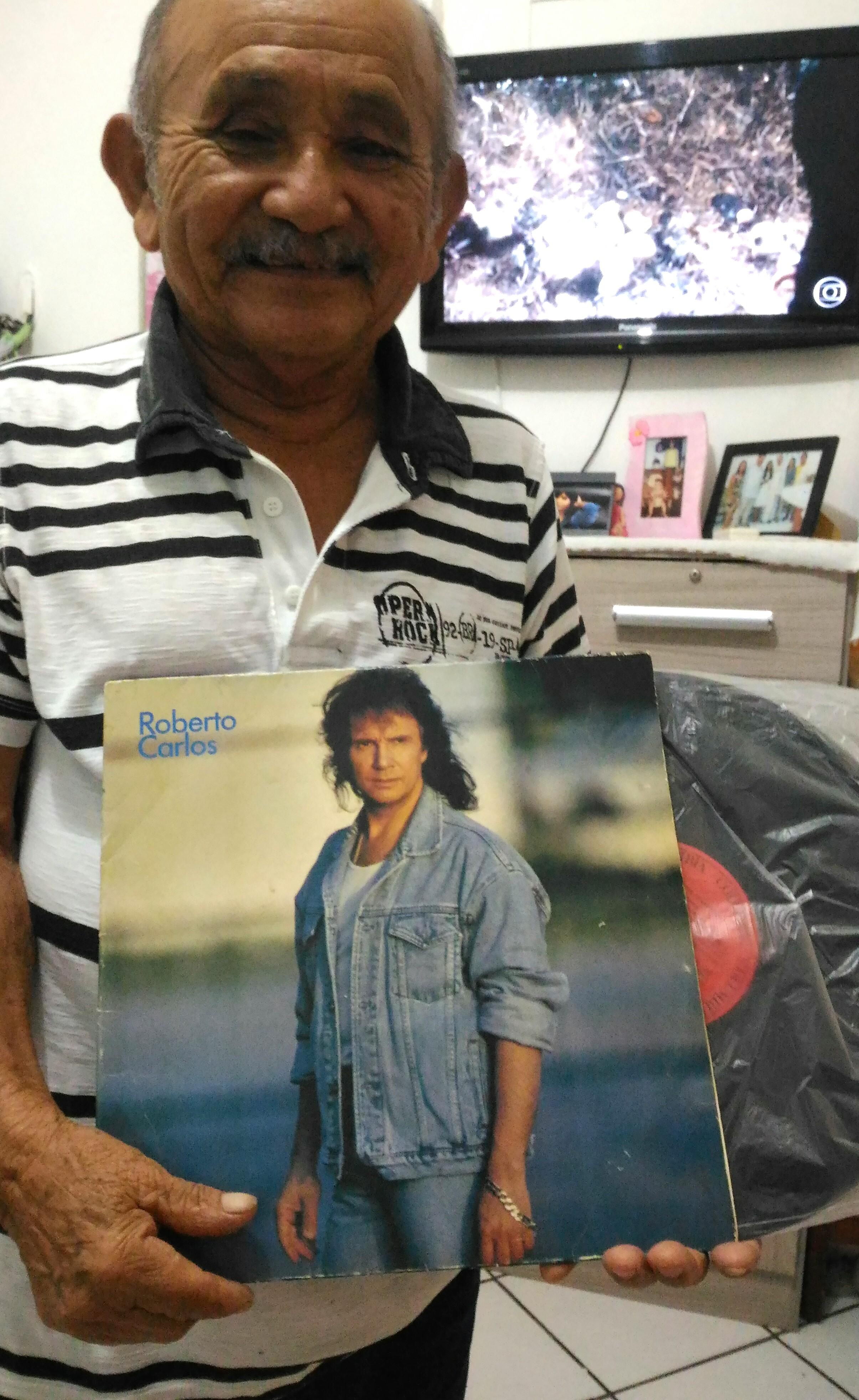 Benedito Ferreira Martins - Um Sonho encontrar Roberto nos meus 83 anos de ida