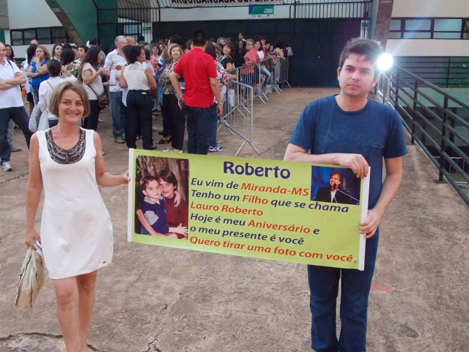 Vera Lucia Trindade Ferreira - Foto tirada no show