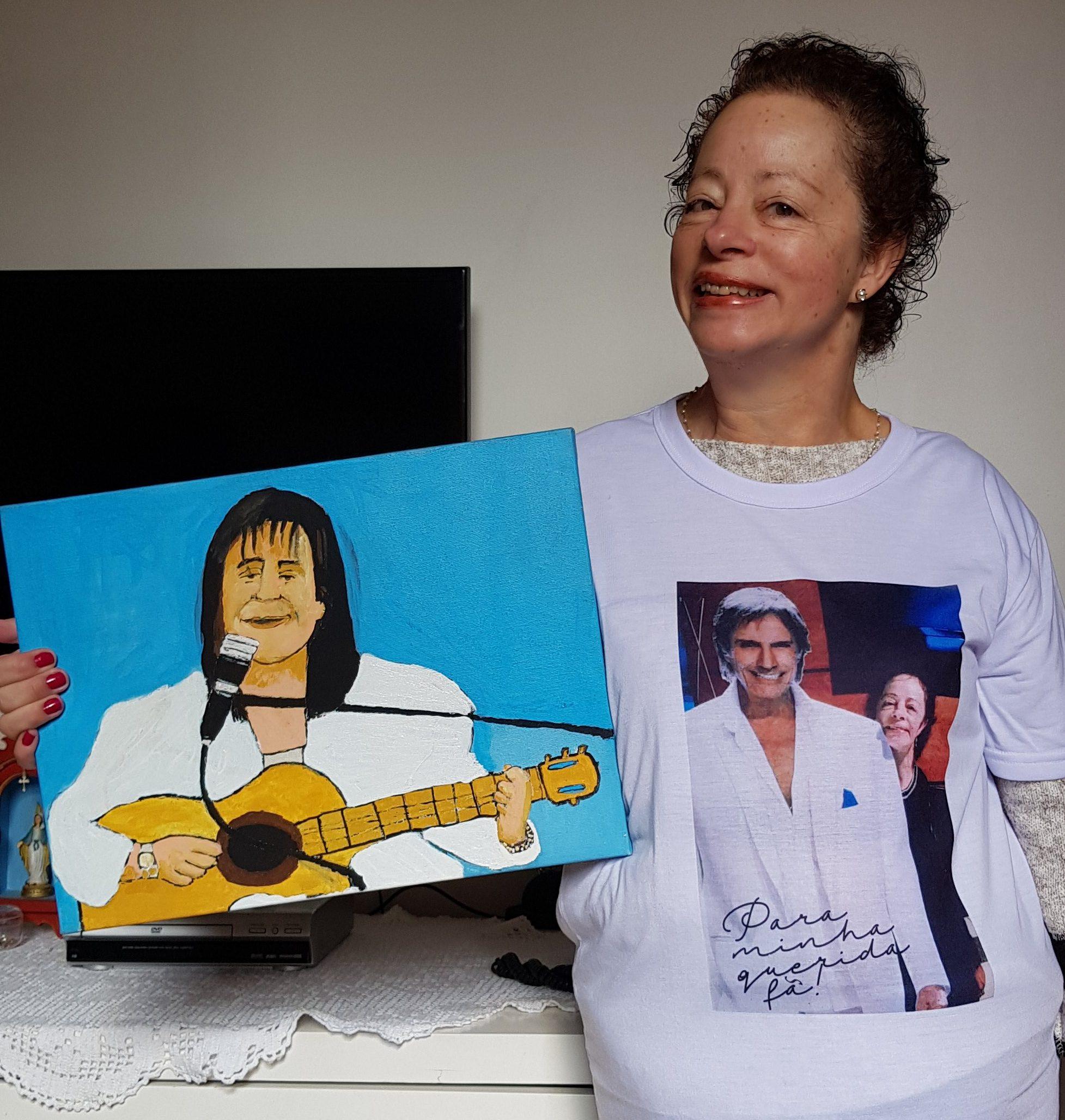 Eliane Maria Ferreira de Toledo - O Rei Roberto Carlos é a alegria da minha vida!