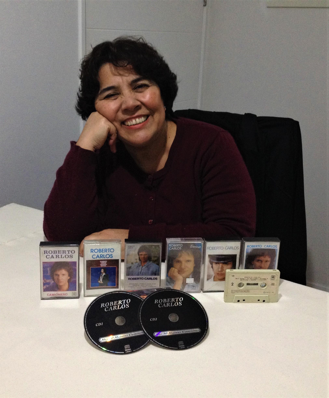 Esmeralda González González - Mi colección de cassettes y cd's desde el año 1982