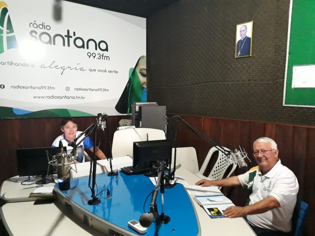 Derbson Frota e Ivan Frota - Ambos apresentam prog. de rádio em homenagem a RC