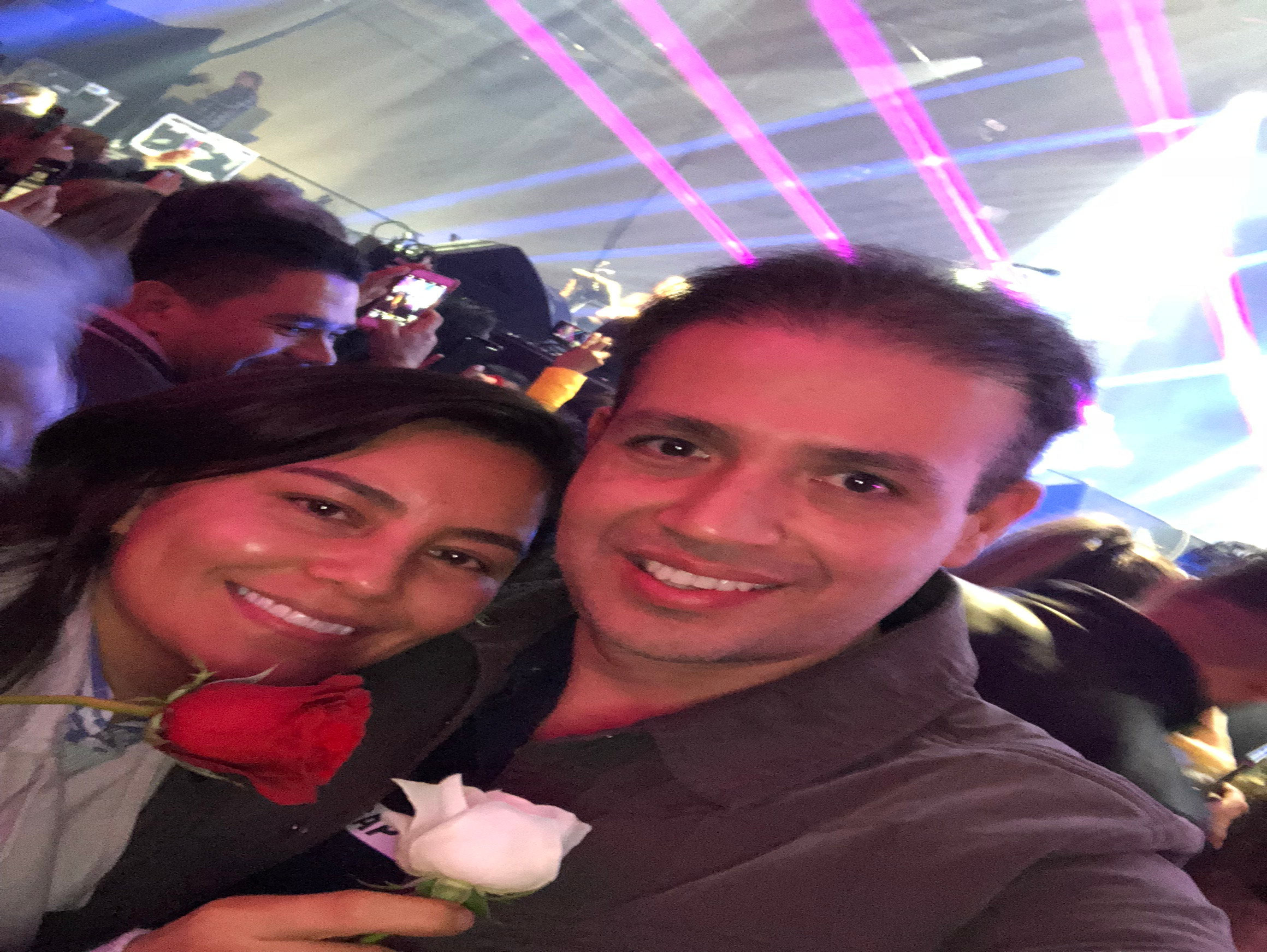 Noe Ramos Aparicio y Luz Maria Perez Ramirez - Concierto Querétaro - 17 de Noviembre de 2018