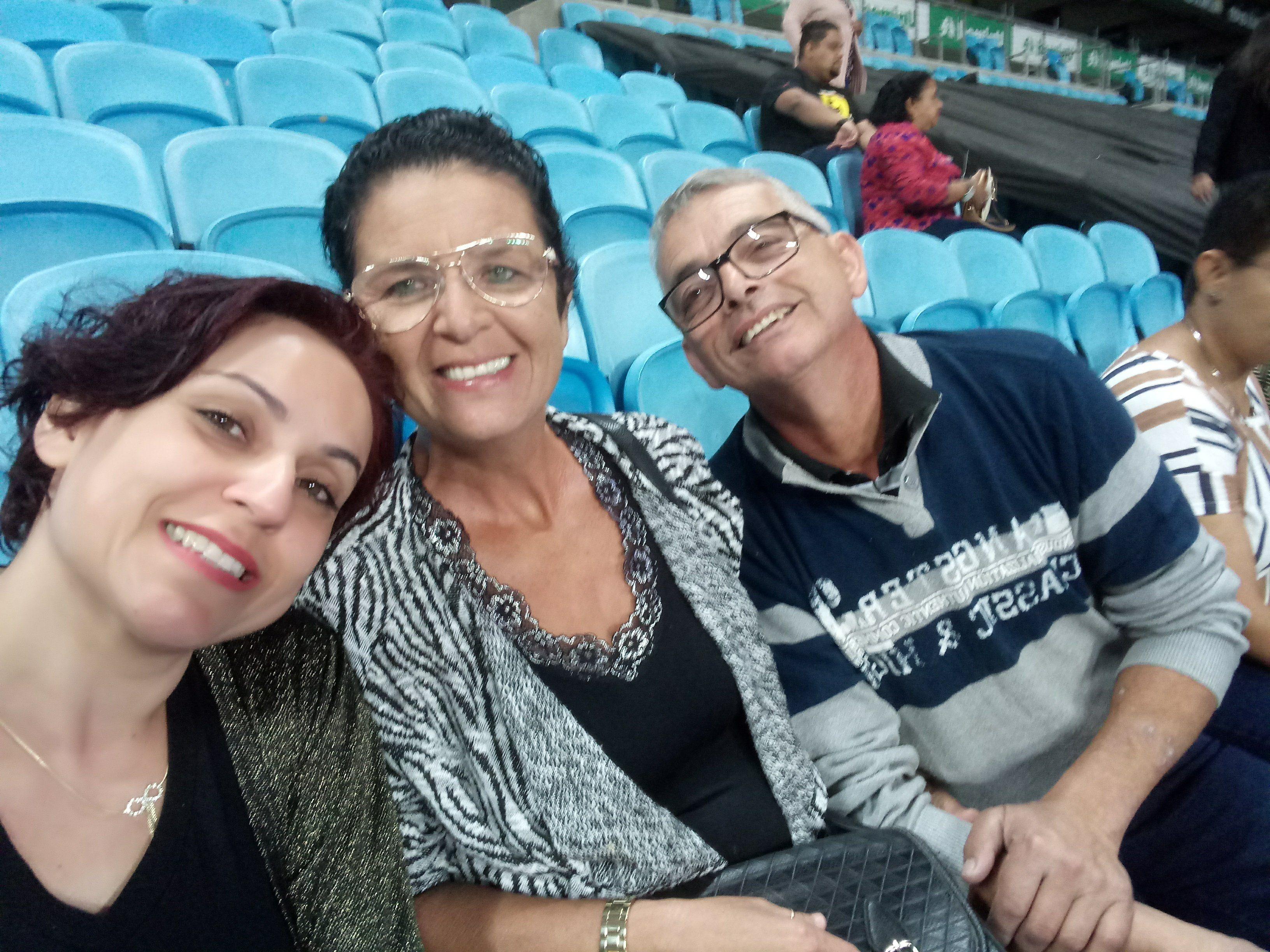 Marlete menezes da silva - Show na arena do gremio dia 8/12/2018