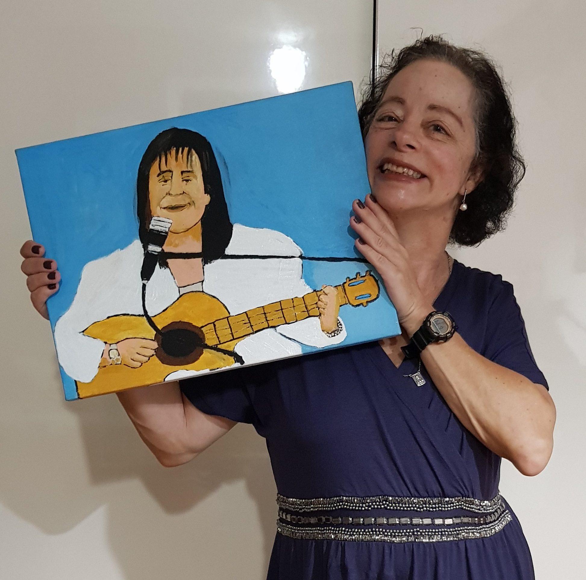 Eliane Maria Ferreira de Toledo - Eu amo o Rei Roberto Carlos!!