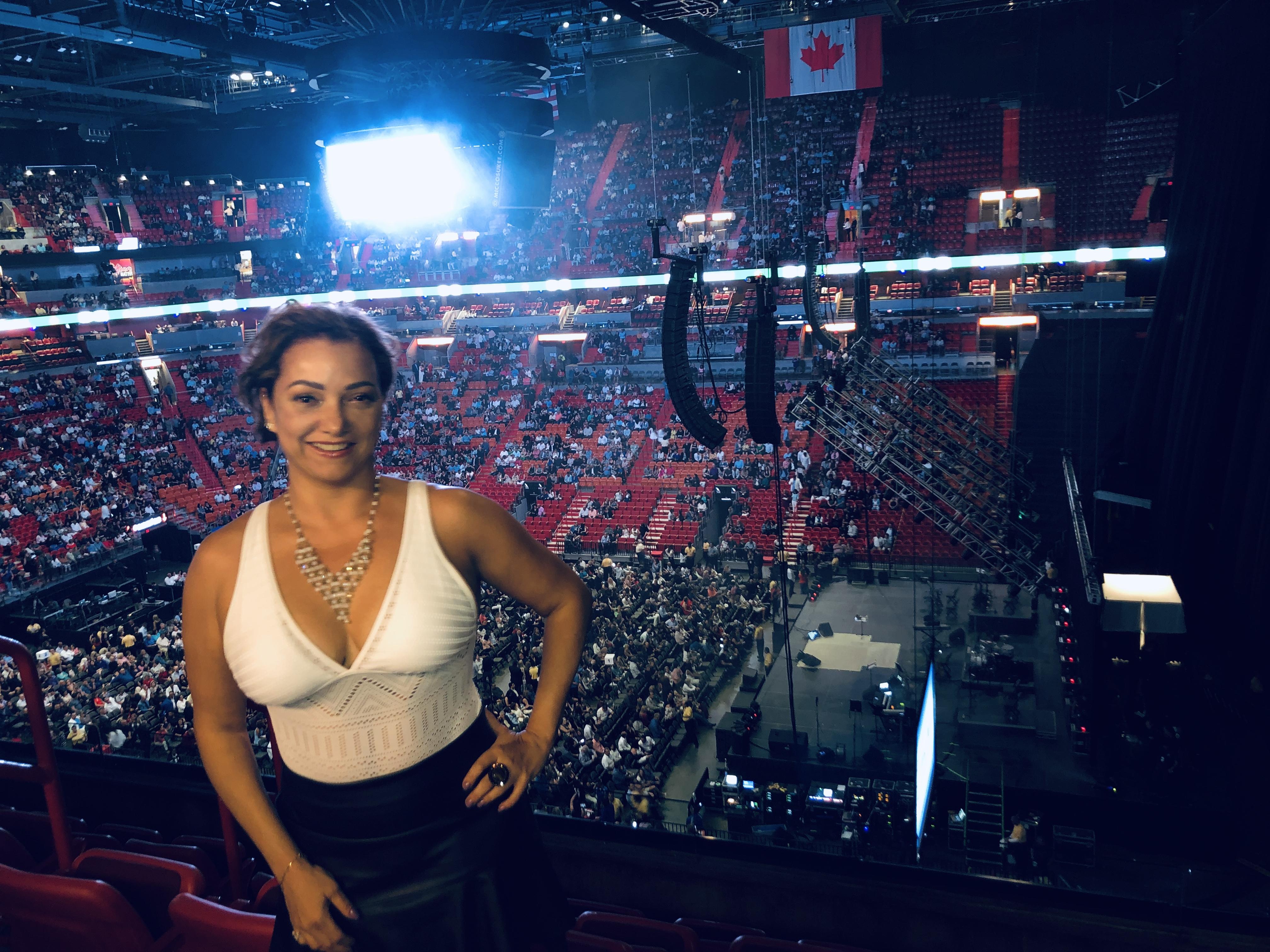 Patricia Galhardoni - 2019 American  Airlines Miami Arena