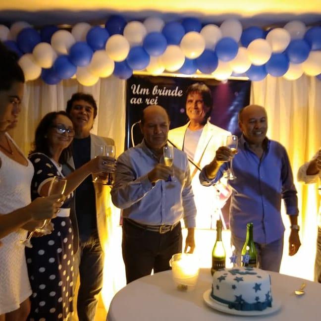 Maria da Penha Araújo - Fãs de Arapiraca AL,numa linda festa do seu aniver