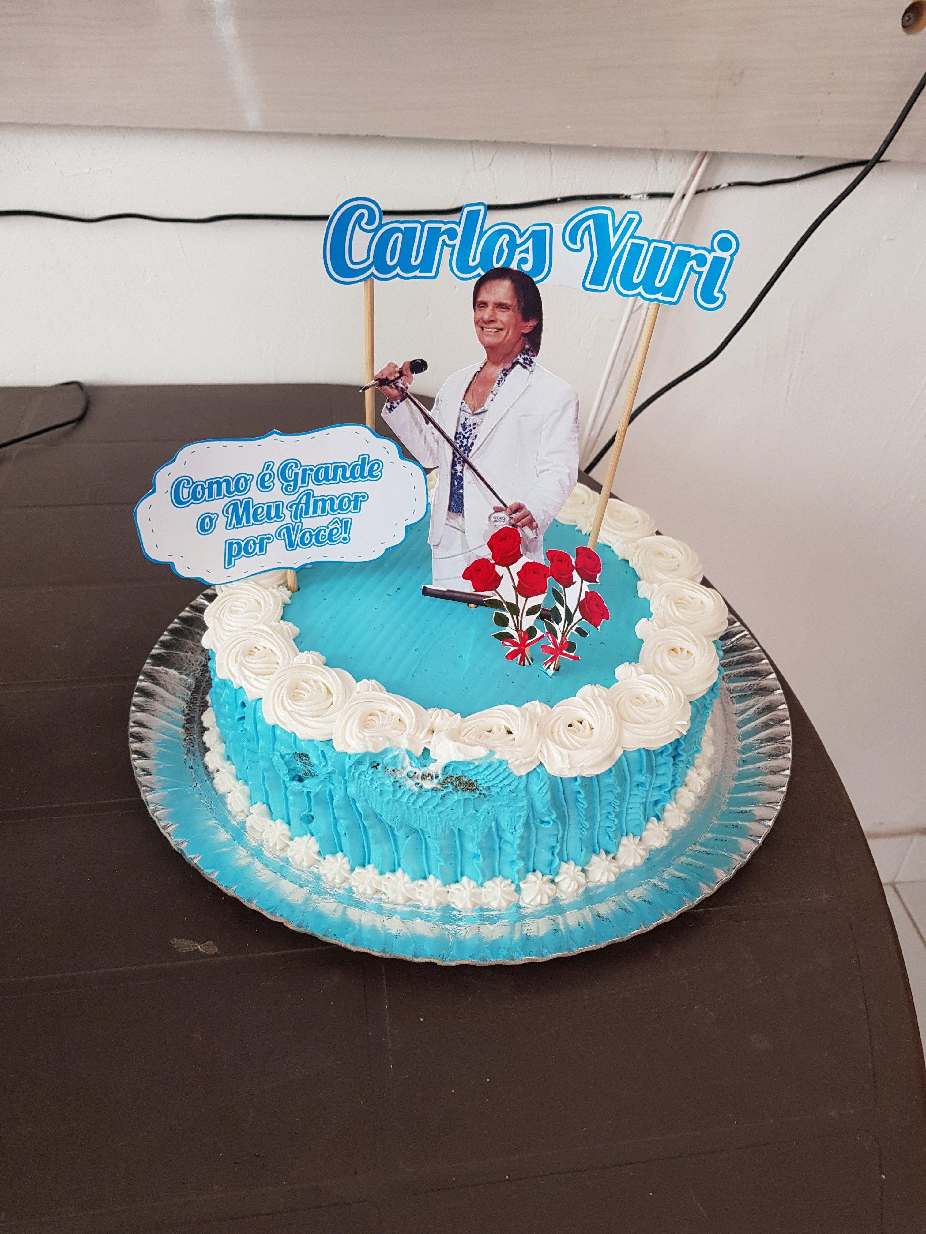 Carlos Yuri Vieira de Sousa - Foto de bolo de aniversário