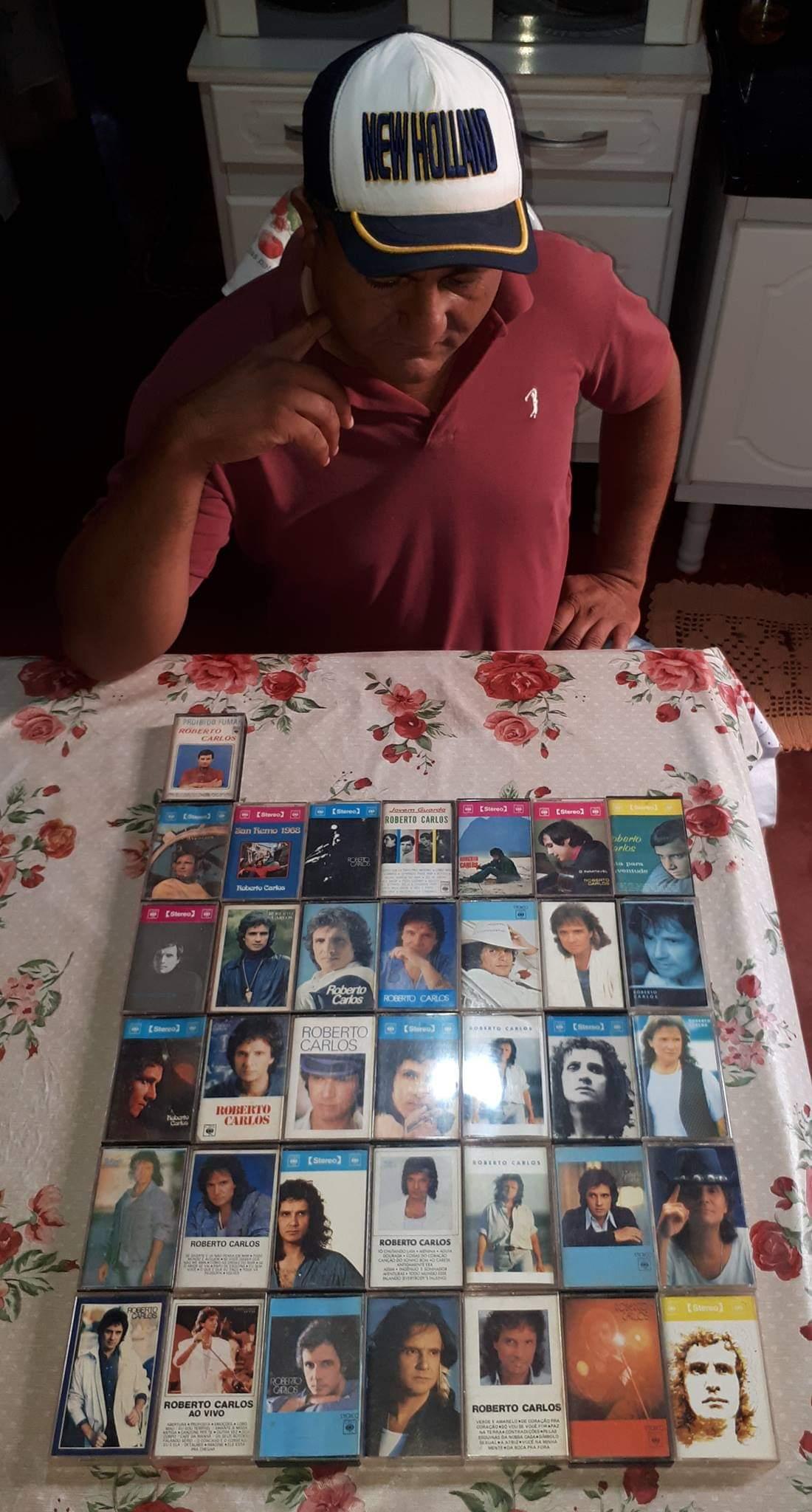 Ademir Tavares Lopes - Quase toda a coleção de fitas.