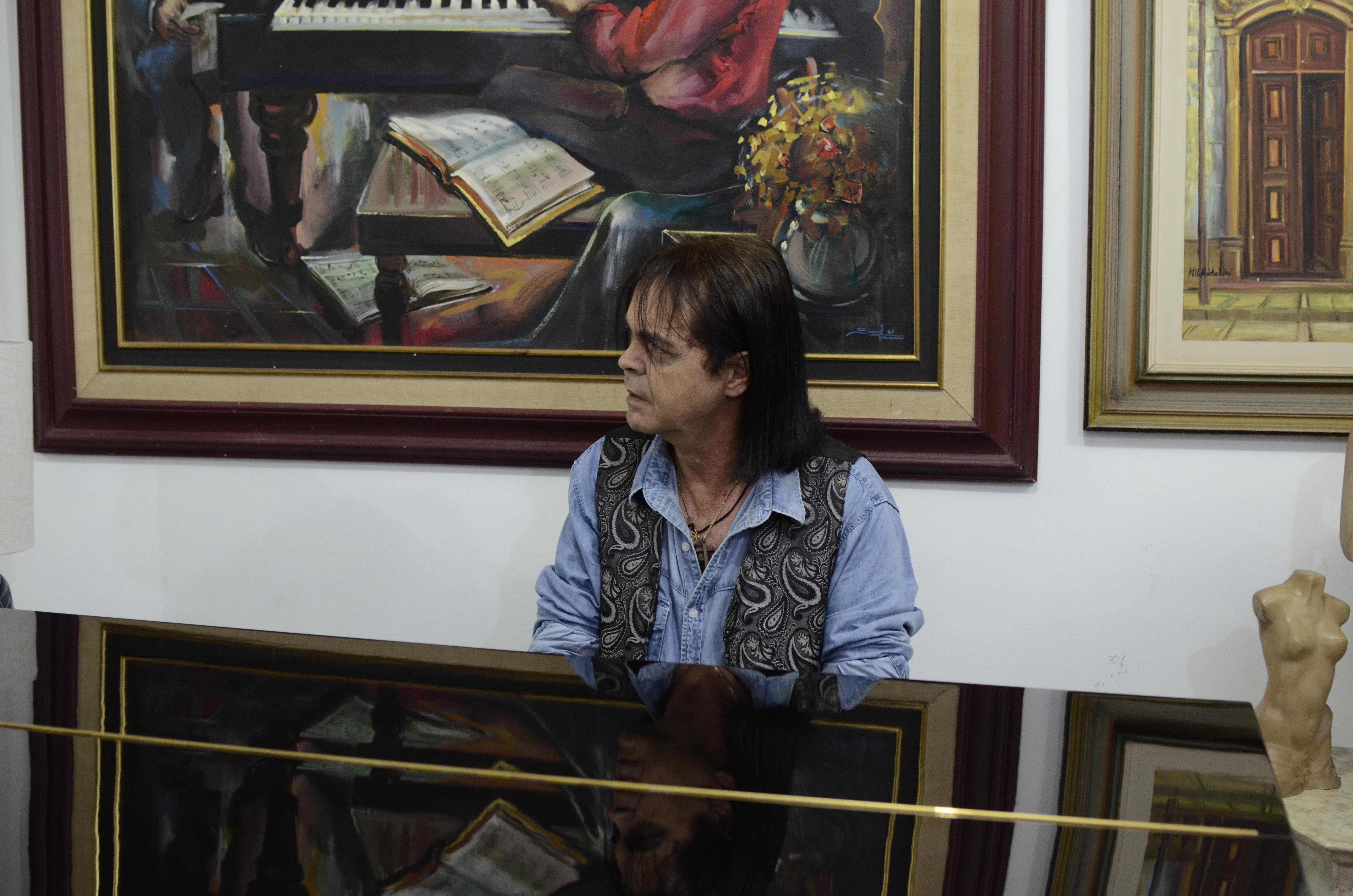 Wilmar Braga - Desde os 9 anos que curto Roberto Carlos