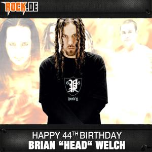 Brian Head Welch von KoRn - Geburtstag