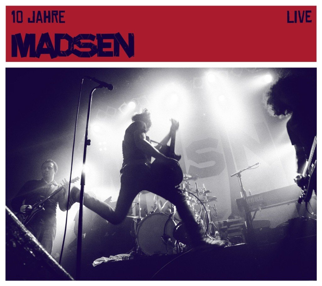Madsen 10 Jahre Live Cover