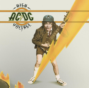 Albumcover AC/DC - High Voltage