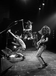 Pearl Jam (1991) SW Bühne