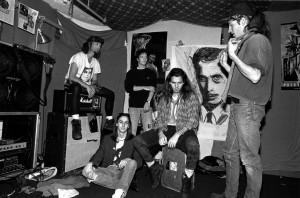 Pearl Jam (1991) SW Gruppenbild