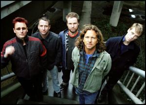 Pearl Jam (2006) Gruppenbild farbig