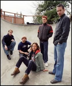 Pearl Jam Gruppenbild