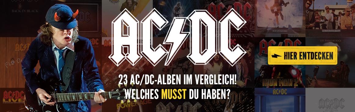 ACDC-23 Alben in der Übersicht auf rock-de