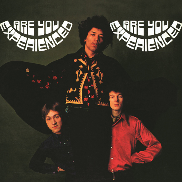 Jimi Hendrix Are You Experienced Albumcover