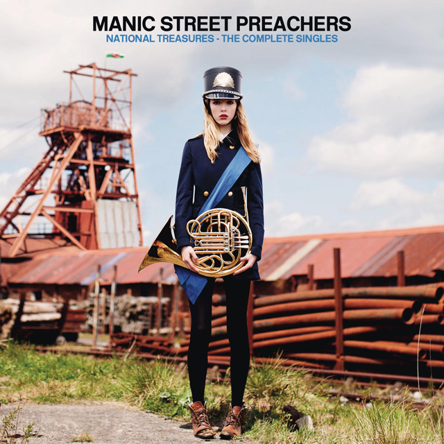 Manic Street Preachers National Treasures Albumcover