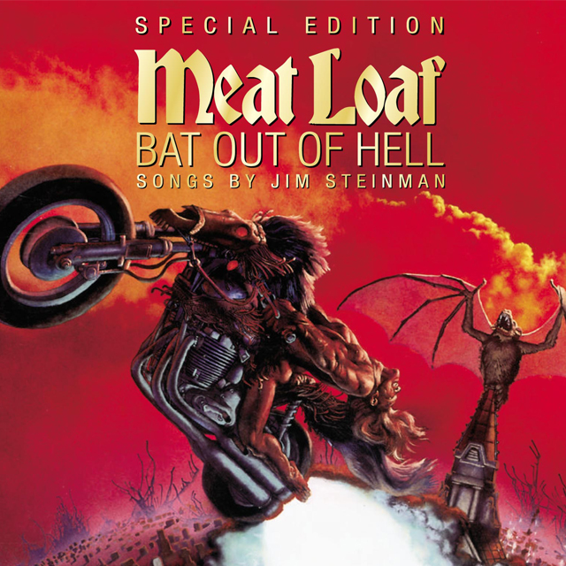 Meat Loaf Bat Out Of Hell Albumcover