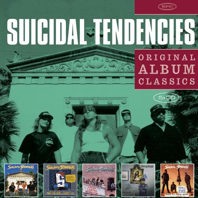 Suicidal Tendencies Original Album Classics Albumcover