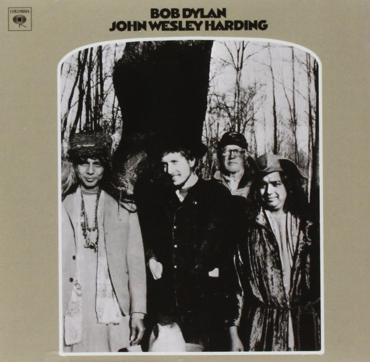 Bob Dylan_JohnWesleyHarding_Cover