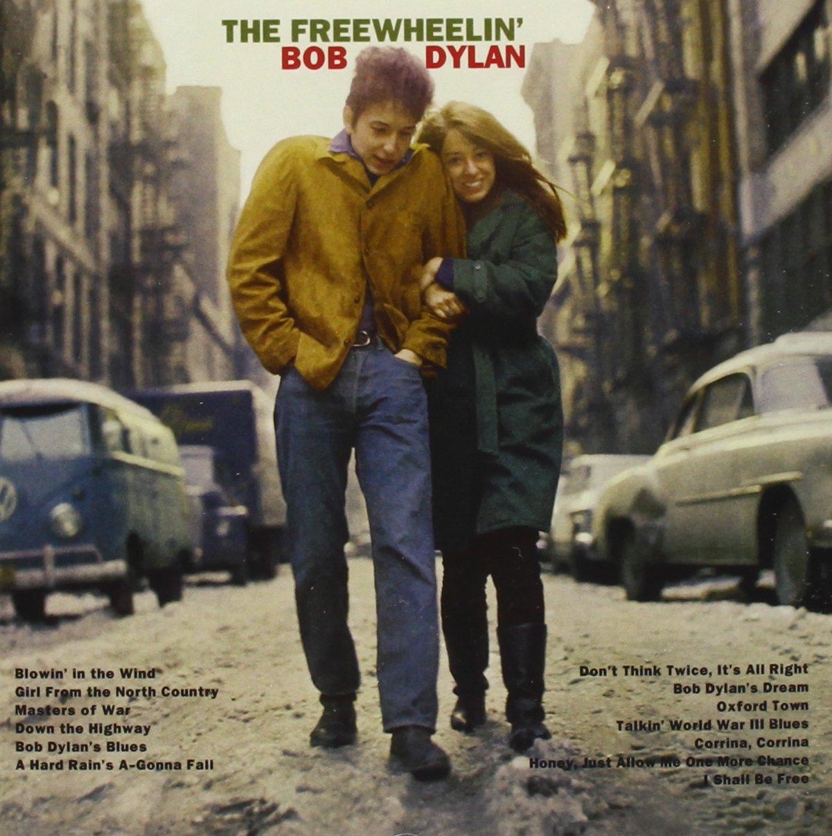 Bob Dylan_The Freewheelin'_Cover