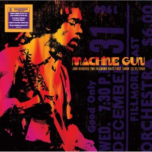 Jimi Hendrix Machine Gun Cover