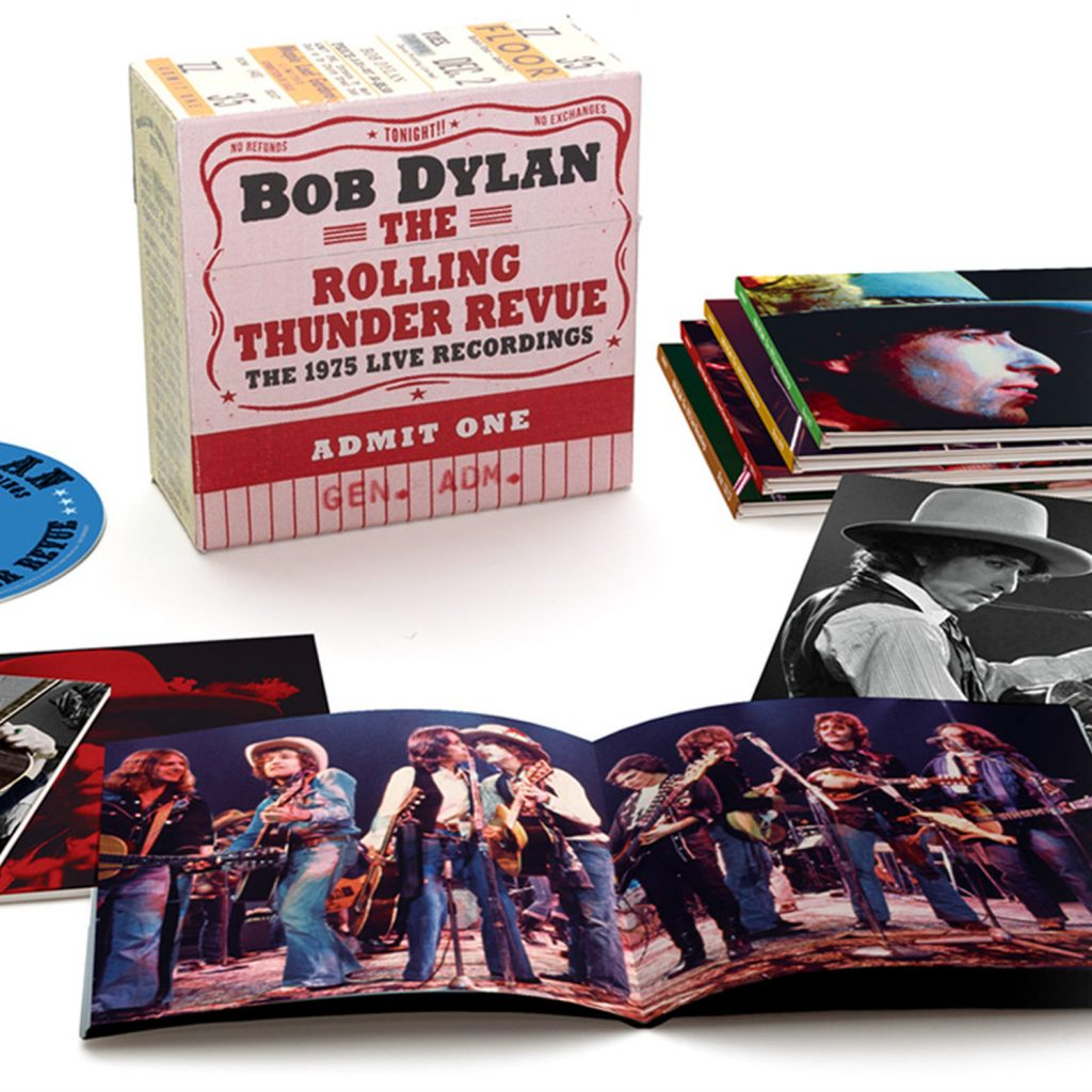 "Bob Dylan ""The Rolling Thunder Revue: The 1975 Live Recordings"""